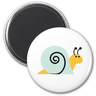 Snail Slugs Gastropoda Cute Cartoon Animal Fridge Magnet