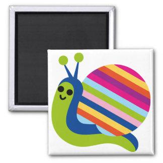 Snail Slugs Gastropoda Cute Cartoon Animal Magnet