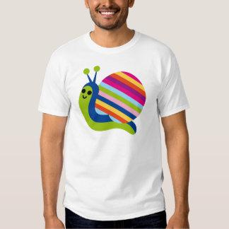 Snail Slugs Gastropoda Cute Cartoon Animal Tee Shirt