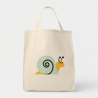 Snail Slugs Gastropoda Cute Cartoon Animal Tote Bag