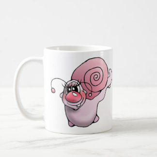 Snail snails snail cup cup classic white coffee mug