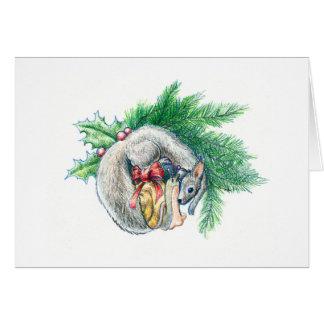 Snail & Squirrel V - Winter 2016 Card