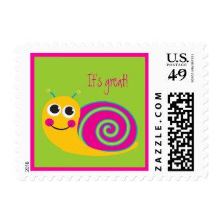 Snail Stamp
