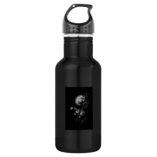 snail tail stainless steel water bottle