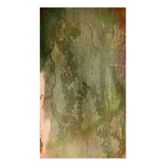 Snail trails om green and pink bark texture business card