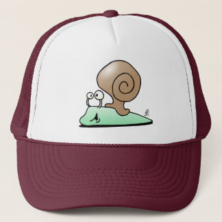 Snail Trucker Hat