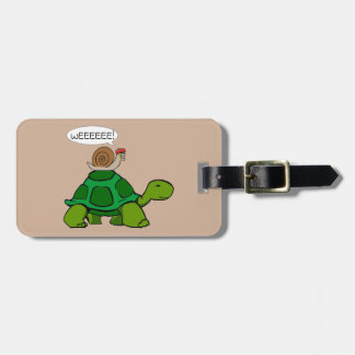 Snail & Turtle - Turbo Duo Luggage Tag