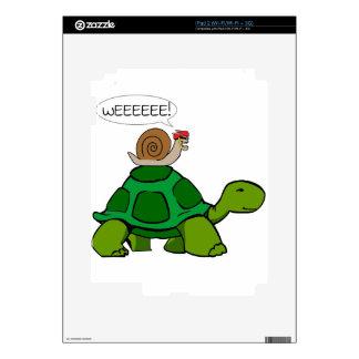 Snail Turtle - Turbo Duo Skin For iPad 2
