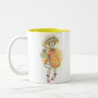 Snail Two-Tone Coffee Mug