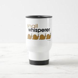 Snail Whisperer 15 Oz Stainless Steel Travel Mug
