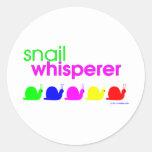 Snail Whisperer Sticker
