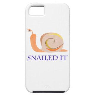 Snailed él funda para iPhone 5 tough