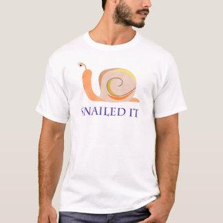 Snailed It T-Shirt
