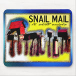 snailmail mouse pad
