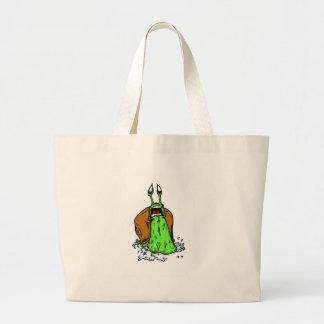 snailpanic canvas bag
