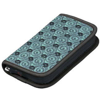 Snails and Flowers Teal Planners