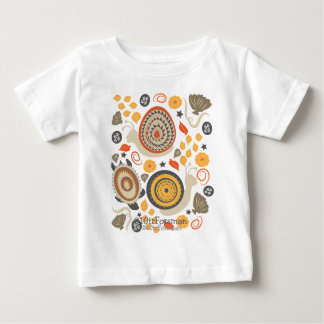 Snails and turtles fine art fun white (or choose)  t shirts