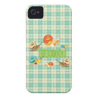 snails crawling iPhone 4 case