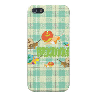 snails crawling iPhone SE/5/5s cover
