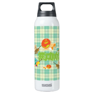 snails crawling 16 oz insulated SIGG thermos water bottle