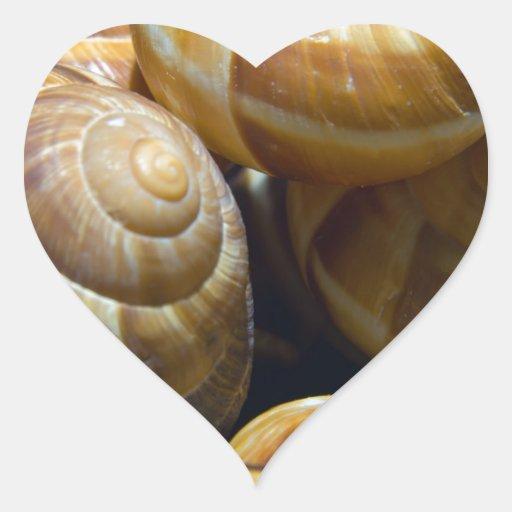 snails heart sticker