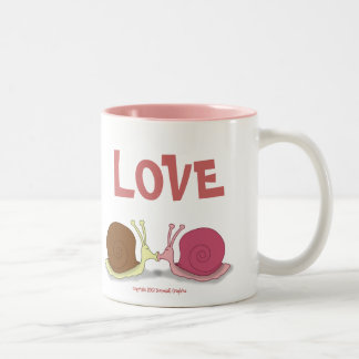 Snails In Love Coffee Mug