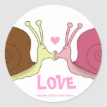 Snails In Love Stickers