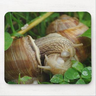 Snails Love Kiss Mousepad