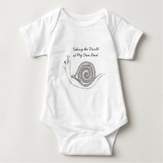 Snail's Pace Infant Onsie/Creeper Baby Bodysuit