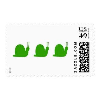 Snails Postage Stamp