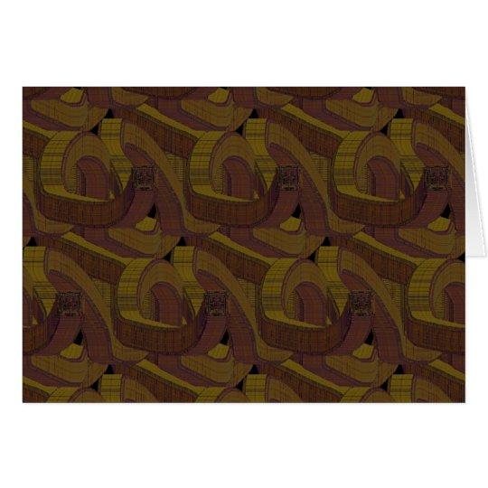 snail's trail - dark card