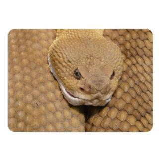Snake 5x7 Paper Invitation Card