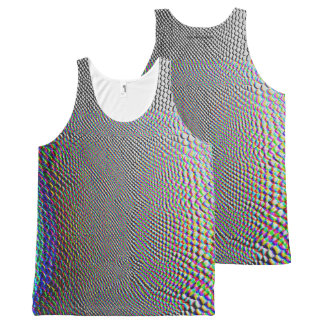 Snake All-Over Print Tank Top