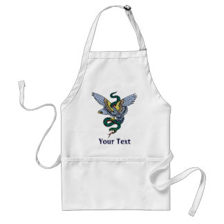 Snake and Eagle - Customize Adult Apron