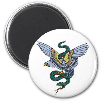 Snake and Eagle Magnet