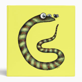 Snake and Fly 3 Ring Binder