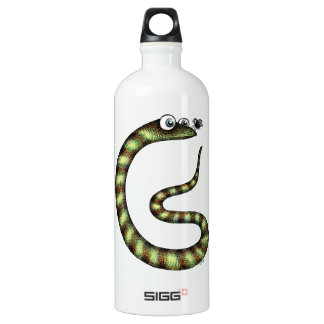 Snake and Fly Water Bottle