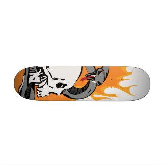 Snake and Skull Graphic Skate Boards
