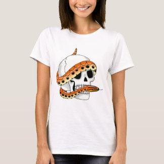 snake and skull (rainbow boa) shirt
