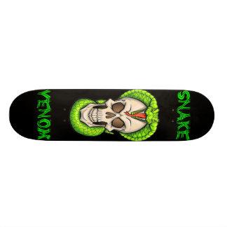 Snake and Skull Skateboard