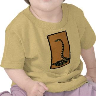 Snake - Antiquarian Colorful Book Illustration Tee Shirts