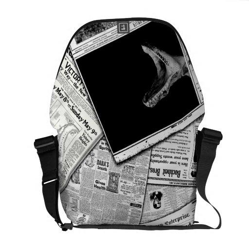 Snake Bite Messenger Bags