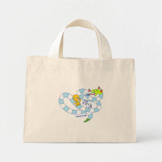 Snake Board Game Doodle Art Bag