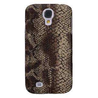 Snake Brown 3G/3GS Samsung S4 Case