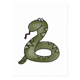 Snake Charmed Tshirts and Gifts Postcard