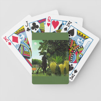 snake charmer bicycle playing cards