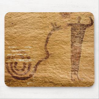 Snake Charmer - Buckhorn Wash Pictograph Panel Mouse Pad