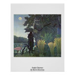 Snake Charmer By Henri Rousseau Posters