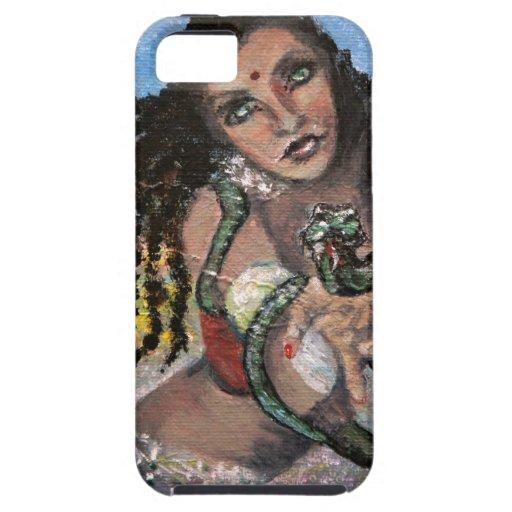 SNAKE CHARMER.jpg iPhone 5 Case