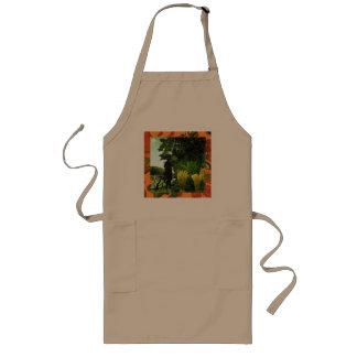 snake charmer long apron